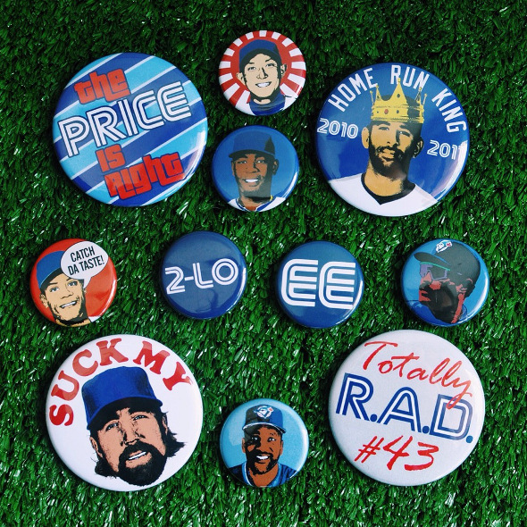Blue Jays buttons