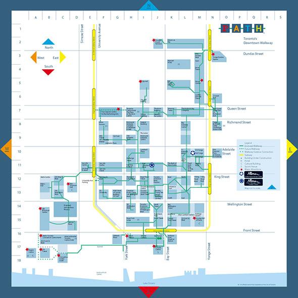PATH map Toronto