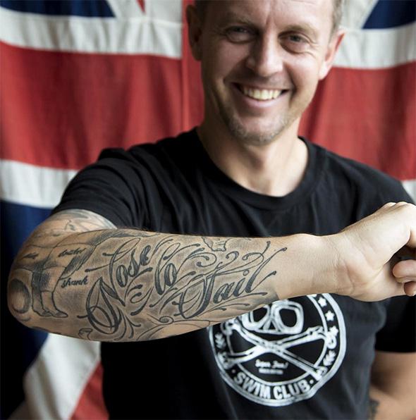 Toronto chef tattoos