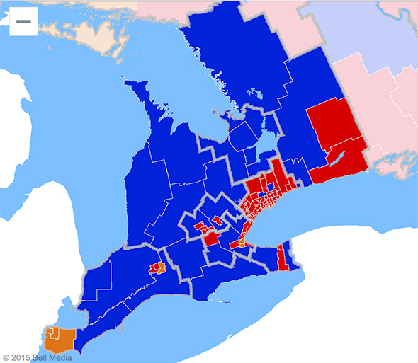 federal election results 2015