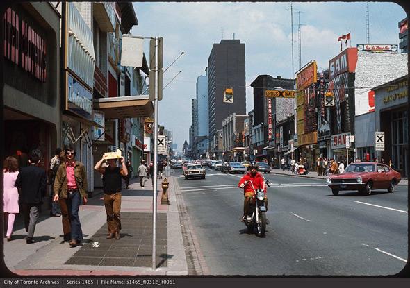 Yonge and Dundas 1970s