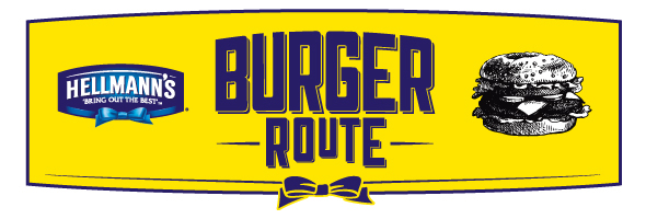 hellmans burger route