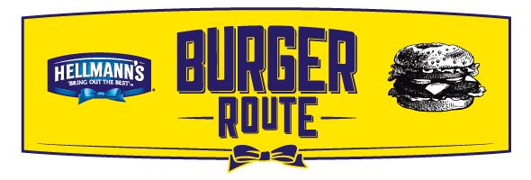 hellmans burger route