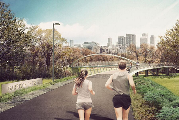fort york pedestrian bridge