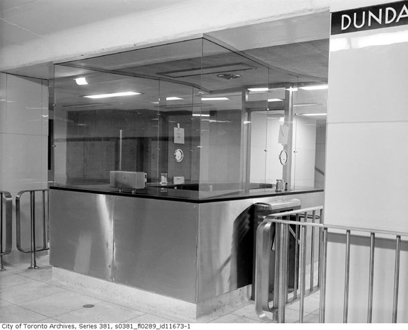 dundas station 1950s