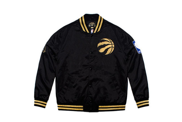 Men s Satin Jacket (Raptors OVO Mitchell   Ness) Suit up in this satin  jacket if you want to outdo everyone wearing basic cotton tees in the  stands. 18a176043