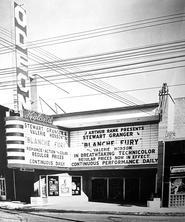 St. Clair West movie theatre