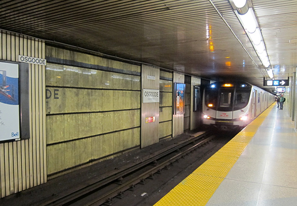 Osgoode station renovations