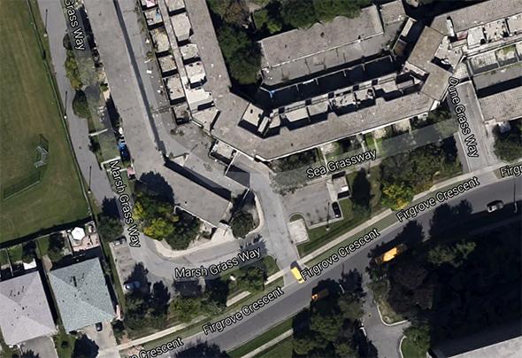 shortest street toronto