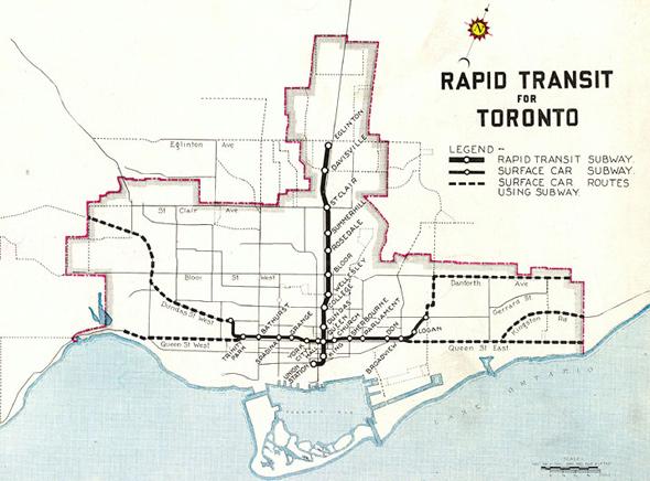 toronto subway plan