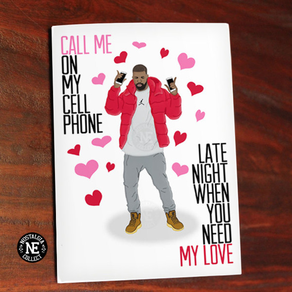 10 Drake Themed Valentine S Day Cards