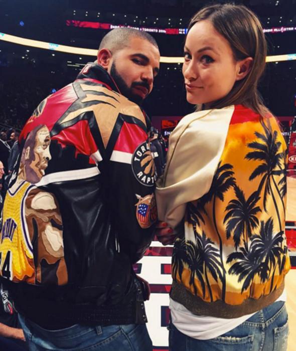 Drake and Olivia Wilde