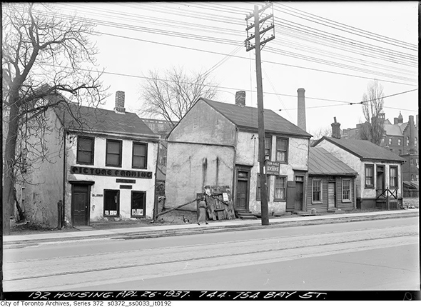 history bay street toronto