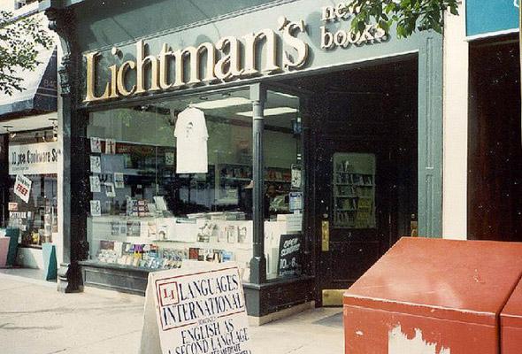 lost bookstores toronto