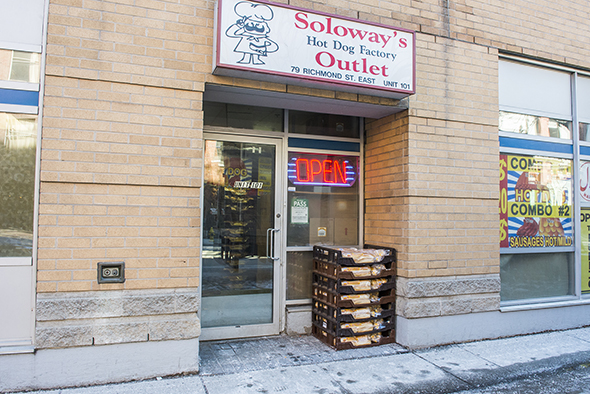 Soloways Hotdogs Toronto