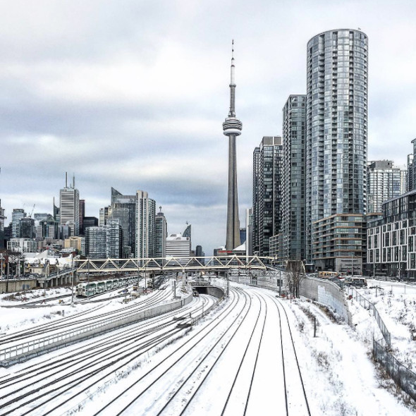 10 Beautiful Photos From The Snowfall In Toronto