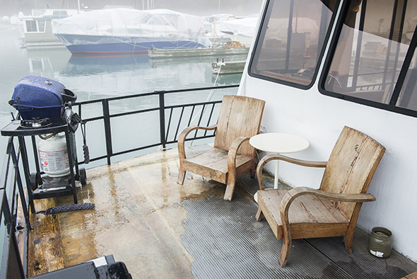 What it's like to live on a houseboat in Toronto
