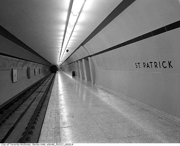 tubular subway station toronto