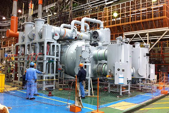 Toronto hydro Copeland transformer