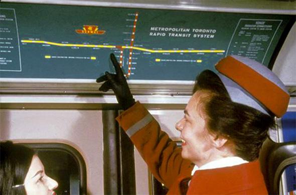 ttc subway route
