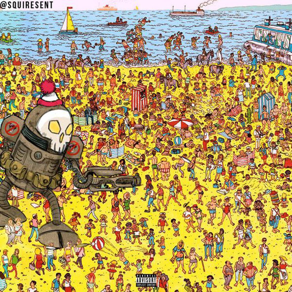 Where's Waldo Drake