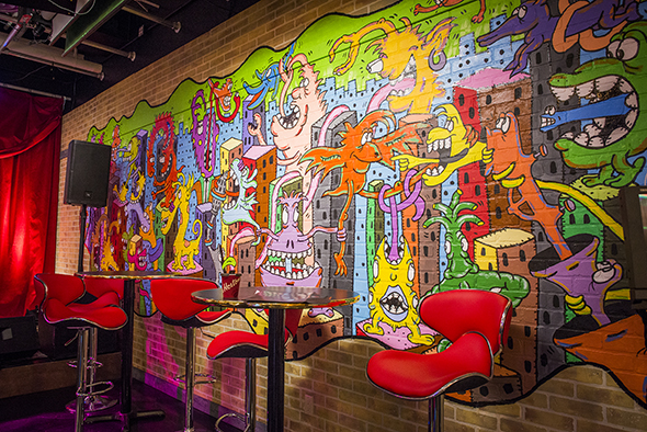 YouTube Space Toronto mural