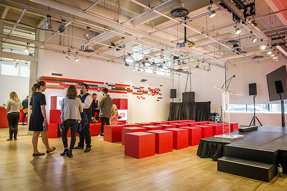 YouTube Space Toronto sound stage