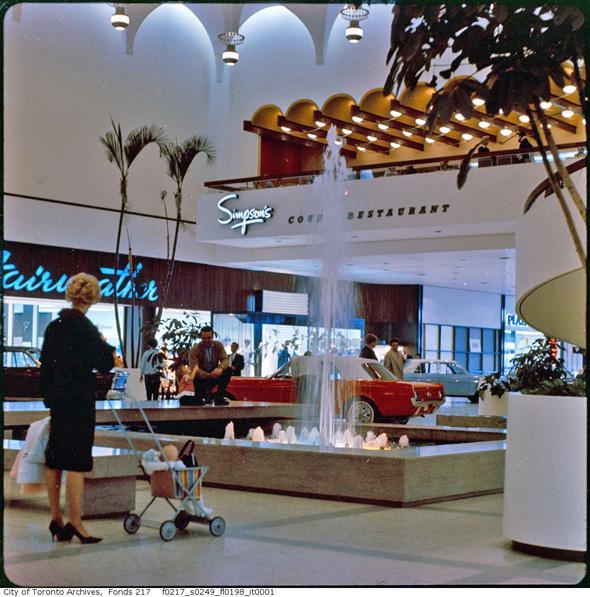 yorkdale mall vintage