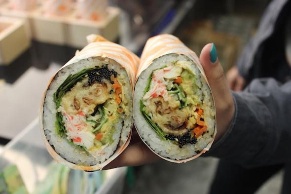 Sushi Burrito Food Truck