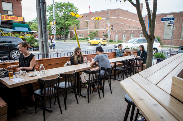 patio first date toronto