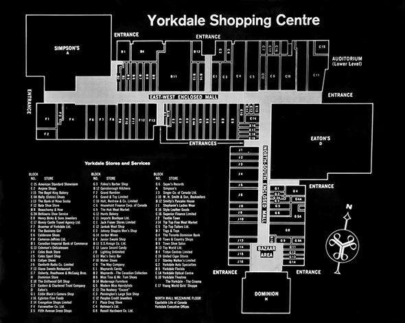 Yorkdale Mall Floor Plan