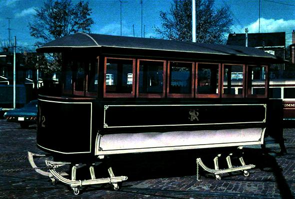 vintage ttc streetcar