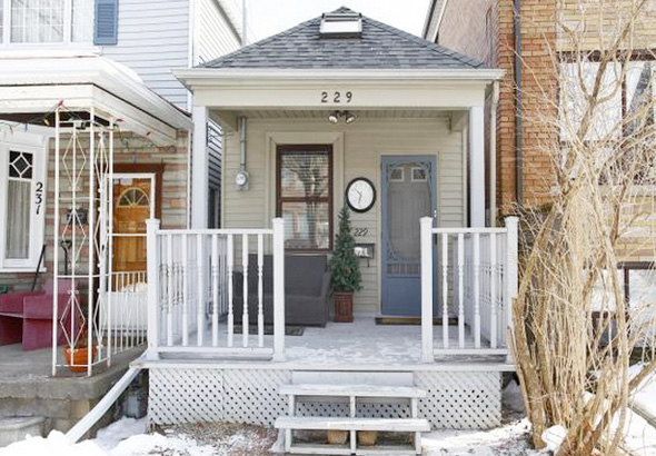 small house in toronto
