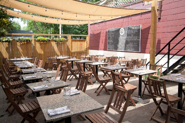 The Top 5 Patios In Leslieville