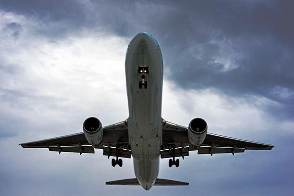 plane spotting toronto