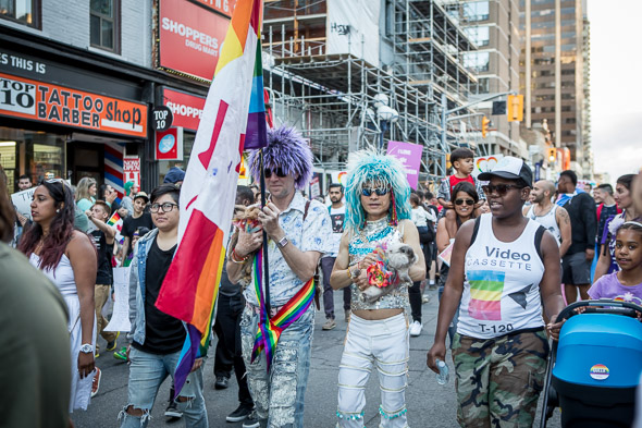 trans march toronto