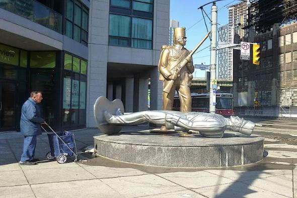 war of 1812 statue