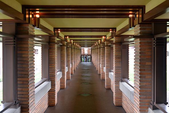 Frank Lloyd Wright Martin House