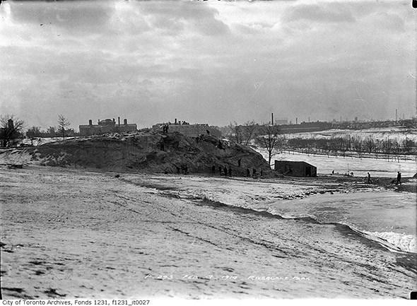 riverdale park skyline 1914