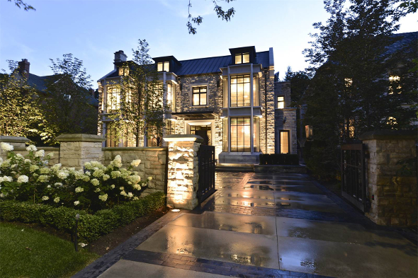 Expensive house Toronto