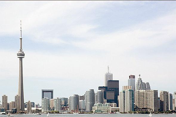 toronto skyline 2006