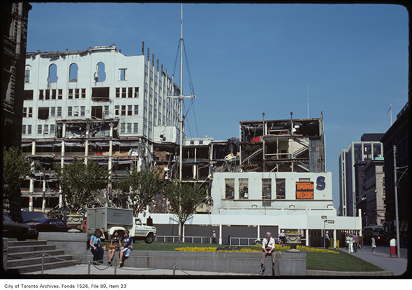 eatons demolition toronto