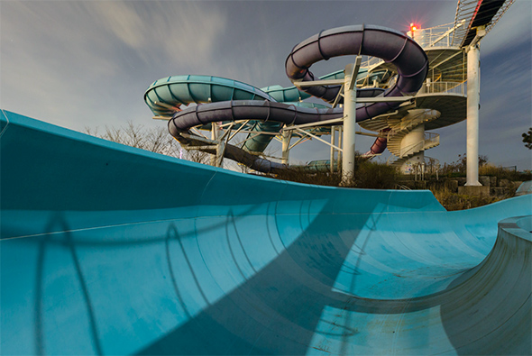Ontario Place waterslide
