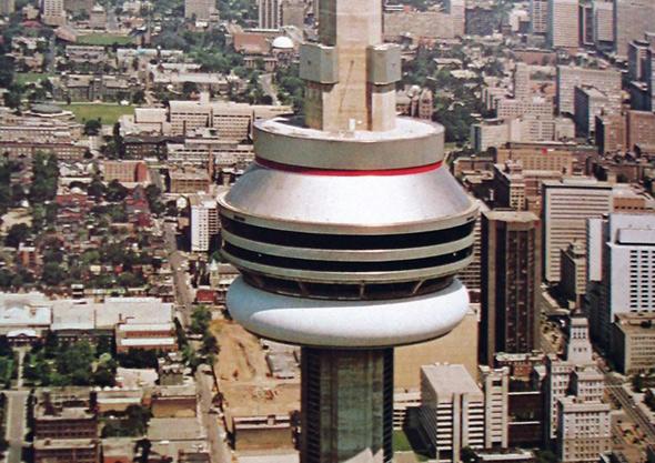 CN Tower nightclub