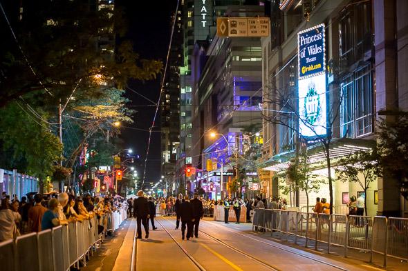 tiff festival street