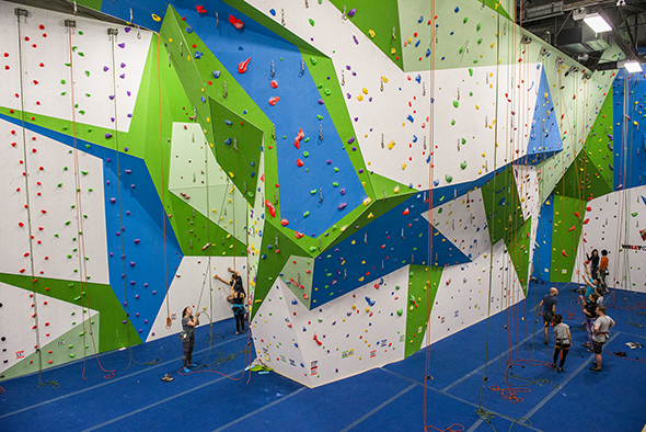 Basecamp indoor climbing toronto