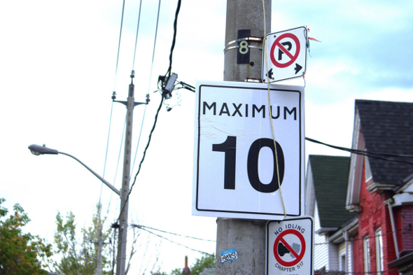 toronto kensington speed limit