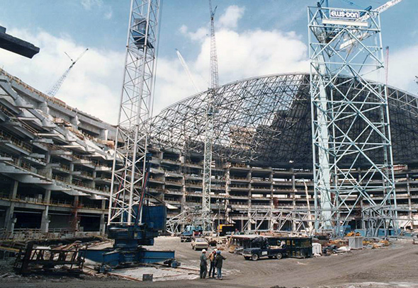 skydome construction toronto