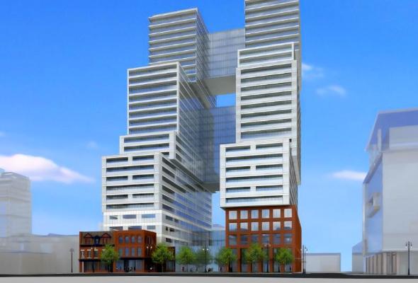 Twin tower condo Toronto
