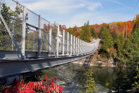 suspension bridge ontario